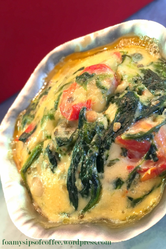 cheese and spinach cake